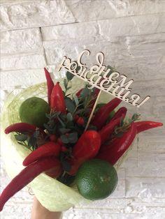 Букет из перца, овощной букет, своими руками, handmade, fruit bouquet, Bouquet of pepper