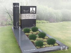 Tombstone Designs, Cemetery Decorations, Funeral Planning, Cemetery Art, Funeral Flowers, Holland, Entrance, Sidewalk, Diy