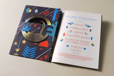 young colossus: book with a 6 song soundtrack by orlando weeks   illustrated by robert hunter