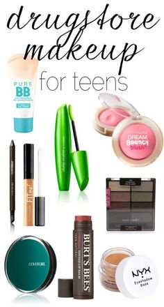 Great drugstore makeup finds for teens
