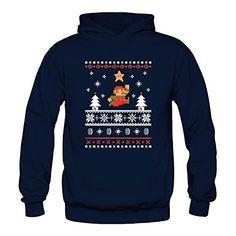 NINTENDO SUPER MARIO UGLY CHRISTMAS SWEATER - Top 40 Ugly Christmas Sweaters for Gamers & Geeks