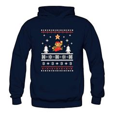NINTENDO SUPER MARIO BROTHERS  - Top 40 Ugly Christmas Sweaters for Gamers & Geeks
