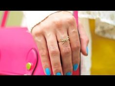 Bow Wire Ring DIY - YouTube