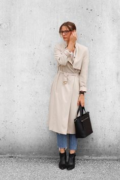 In summer I finally got my hands on a timeless classic: a beige trench coat. On the blog I show you how I styled a casual fall style with my new trench!