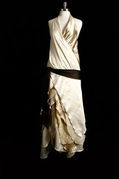 1920's Flapper inspired Wedding Gown