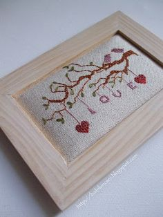 Love Birds on Branch, designed by Barbi