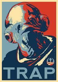 Admiral Ackbar Star Wars Trap Pop art