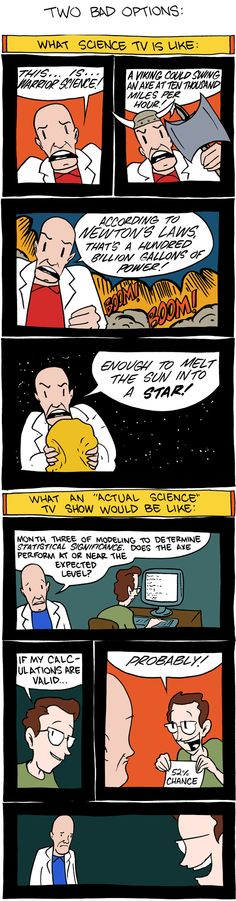 Science TV Shows for Klingons and Vulcans Funny Pins, Stupid Funny Memes, Funny Relatable Memes, Smbc Comics, Fandom, Science Geek, France, Anime Eyes, Geek Out