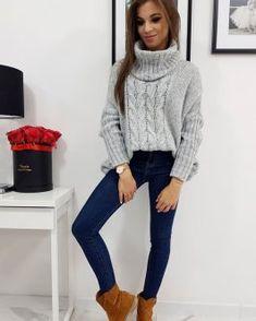 Dámske svetre a roláky - Oblečiemsa.sk Turtle Neck, Sweaters, Fashion, Moda, Pullover, Sweater, Fasion, Trendy Fashion