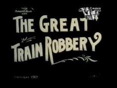 Большое ограбление поезда / The Great Train Robbery - 1903   Первый вестерн