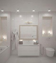 ванная комната. Ванная мини плиточка