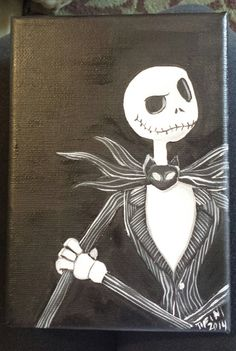 Jack Skellington Nightmare Before Christmas by ButterflyCreation