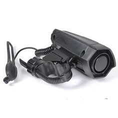 world-wind#3011 Bicycle Climbing Cycling Horns Electronic Bell Horny Alarm Sound Bicycle Horn free shipping