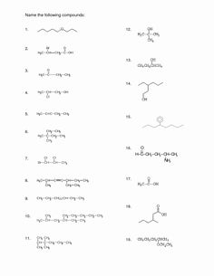 Naming Chemical Compounds Worksheet Answers Elegant 9 Best
