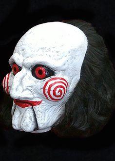 Saw Billy Puppet Mask - Jigsaw