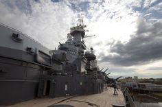 "Battleship USS North Carolina (BB-55) ""Showboat"" superstructure & 5-inch turrets | by Gray Lensman QX!"