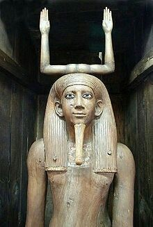 Ka statue of the pharaoh Awibre Hor, on display at the Egyptian Museum, Cairo Pharaoh Reign	2 years, 1777-1775 BC (Ryholt), a few months (Baker), 7 months c. 1760 BC (Verner), c. 1732 BC (Schneider) (13th Dynasty)