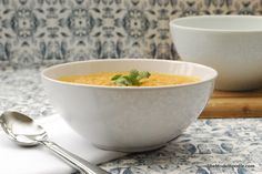 Yummy Winter Carrot Soup. Find lots of other #healthy recipes on TheModelFoodie.com