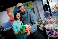After much online success, Shannon and Justin Prokop opened the Fortune Cookie Soap store in 2012 in Jenks.