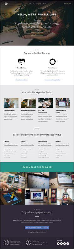 Daily Web Design and Development Inspirations No.387