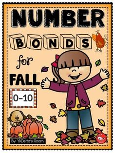 Number Bonds - 22 pages (Fall and Halloween)Practice addition and subtraction within 10.Here are some of the printables included in this set:Autumn LeavesFall is Here!Apple StandBirdiesCandy CornBusy CrittersHalloween Pumpkins!Apple PiesOak NutsMore Oak NutsFriendly Ghosts #1Friendly Ghosts #2BatsOwlsDaddy Long LegsThe Witch is In! (with ten frame)The Witch is Out! (with ten frame)Ten Acorns (with ten frame)Number Bond Practice #1 (Apples)Number Bond Practice #2 (Apples)Number Bond Practice…
