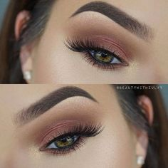 """Beautiful look @beautywithzulyy EYES: Master Palette by Mario & for highlight Ultimate Glow Kit """"White Sand"""" FOUNDATION: ABH Stick Foundation in """"Golden"""" to contour and """"Ivory"""" to highlight #anastasiabeverlyhills"""