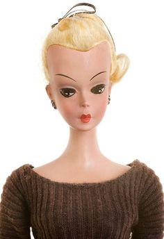 An Original Bild Lilli the German doll that preceded  Barbie doll