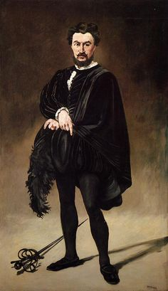 The Tragic Actor.c.1866.by Edouard Manet