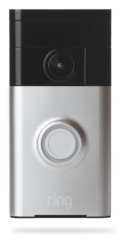 The Ring Video Doorbell || Ring provides a new level of security, by notifying you when someone is on your property and letting you see and speak with anyone at your front door. Imagine being home alone at night, and answering the door in complete safety and comfort. | Ring