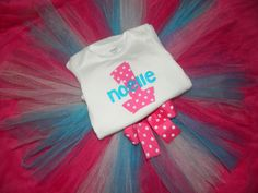 Girls 1st Birthday Outfit Number One by ItsTuTuCuteBowtique, $29.99