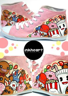 Pink Candy High Tops
