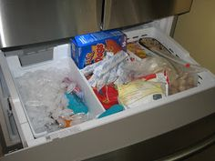 Giftie Etcetera An Impossible Mission Aka Organizing The Bottom Drawer Freezer