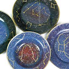 DIY Constellation dishes