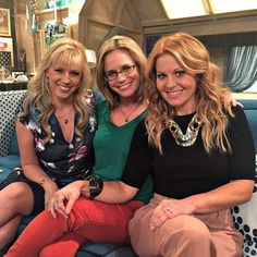 Fuller House Stars Candace Cameron Bure, Jodie Sweetin, and Andrea Barber Reveal New Secrets About Full House: Glamour.com