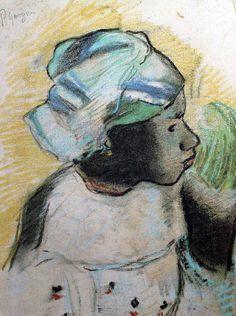 Paul Gauguin - Tête de jeune Martiniquaise - 1887                              …