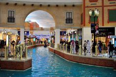 Villagio Mall, Doha, Qatar - Interesting Places to Visit - Please Share or LIKE Places To Travel, Places To See, Travel Destinations, Places Around The World, Around The Worlds, May Bay, Doha, Shopping Mall, Beautiful Places