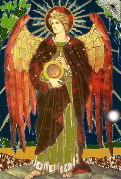 Archangel Raphael -- Watchtower of the  East and Element of Air