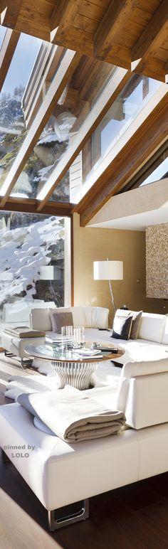 Winter Chalet- Winter Luxury~ Zermatt Peak Luxury Chalet LOLO LadyLuxuryDesigns