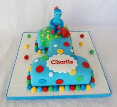 In the night garden 1 cake. Thecake-room.co.uk