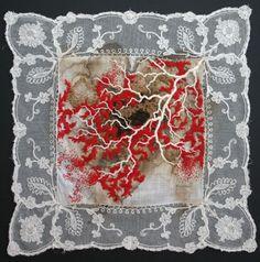 "bricolage   craftandmemory: ""I use contemporary embroidery..."
