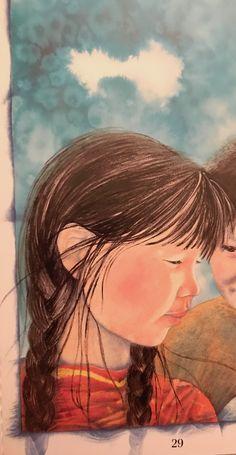 Illustration by Vladyana Langer Krykorka in 'Arctic Stories' by Annick Press