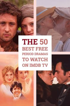 IMDB TV, previously known as IMDB Freedive, has many free period dramas to watch. You can watch on the website, Amazon Fire TV, or through Amazon Prime Video. All of these movies and shows are free to watch. Here's a list of the 50 best period dramas currently available as of August 2019. #perioddramas #romanticperioddramas #historicaldramas #wardramas #periodtvseries #streaming #IMDBTV #PrimeVideo #JaneAusten #SenseAndSensibility Period Piece Movies, Best Period Dramas, Imdb Tv, Tv Series To Watch, Romantic Period, Drama Memes, Christian Movies, Amazon Prime Video, Video Channel