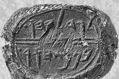 Royal seal bears name of Gedaliah, a prince to Judah's King Zedekiah, mentioned in the Old Testament Book of Jeremiah 38:1. The prince is said to have tossed the prophet Jeremiah down a well.