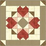 Somewhere My Love Free Quilt Block Pattern