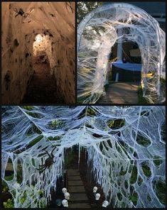 Can be made from chicken wire inc pvc pipes and wood. Halloween Goodies, Halloween Costume Contest, Halloween 2019, Holidays Halloween, Scary Halloween, Happy Halloween, Halloween Party, Halloween Outside, Outdoor Halloween