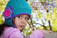 Crochet Hat Pattern  Textured Earflap Hat Crochet by BBfromOz, $4.00 idea #3..my fave so far...@sara