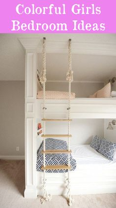 Diy crafts cool bunk beds, home bedroom, kids bedroom. Bunk Beds With Stairs, Cool Bunk Beds, Kids Bunk Beds, Bunk Beds For Girls Room, Bunkbeds For Small Room, Best Bunk Beds, Bunk Bed Ideas For Small Rooms, Childrens Bunk Beds, Adult Bunk Beds
