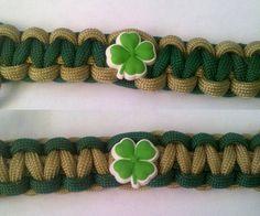 Notre Dame Fighting Irish Paracord Bracelet by PhaedrusParacord