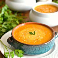 Butternut Sweet Potato Soup  - Redbook.com