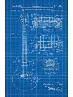 Les Paul Guitar - T.M. McCarty - 1955